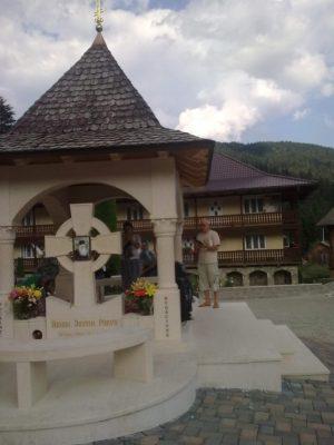 I S la Mormântul Justin P Mănăstirea Petru Vodă
