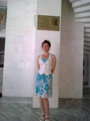 Mihaela Băbuşanu la muzeu 20 07 2017