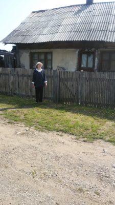 eu la casa fostă a lui Blaga foto Drăgan Adela 25 iunie 2017